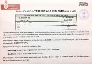 taxi a la demanda